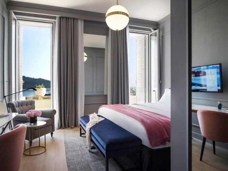 Chambre avec vue sur mer, Hôtel Exclesior, Dubrovnik