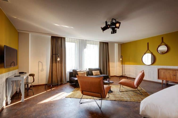 Suite à l'hôtel V Nesplein, Amsterdam
