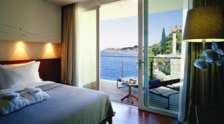 Chambre avec vue, Hôtel Villa Dubrovnik