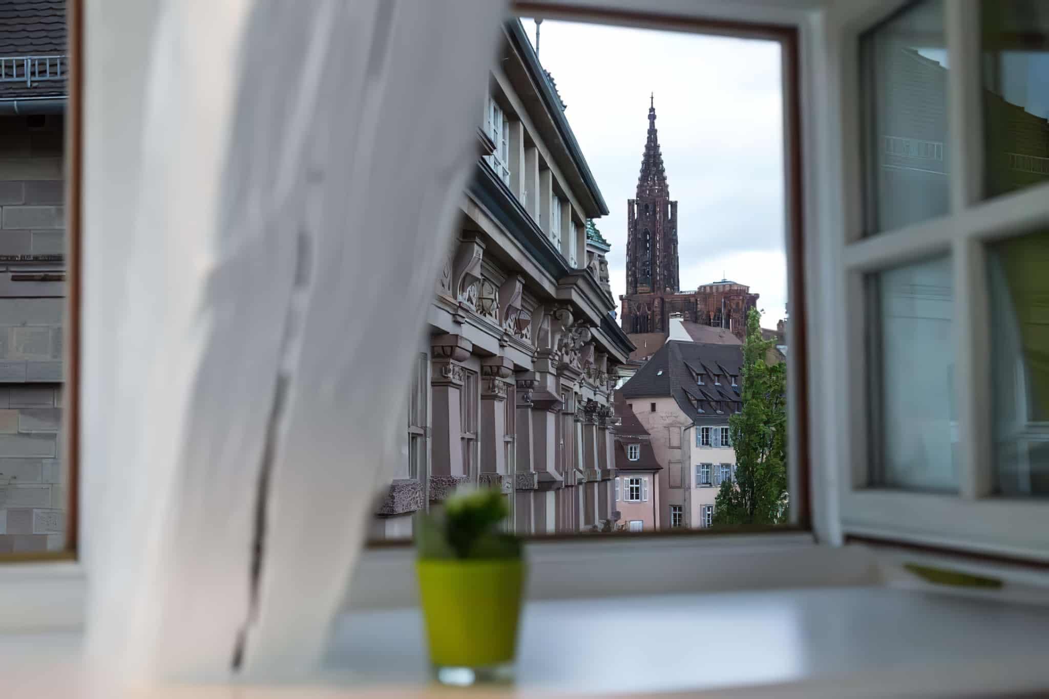 Hôtel avec vue sur la Cathédrale, Strasbourg