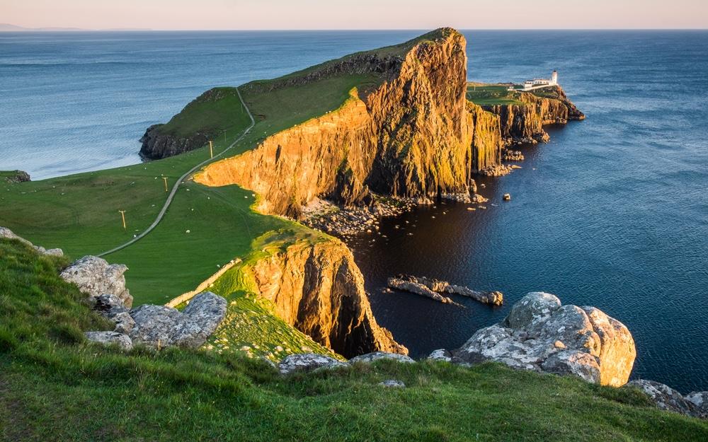Le phare de Neist Point sur l'île de Skye