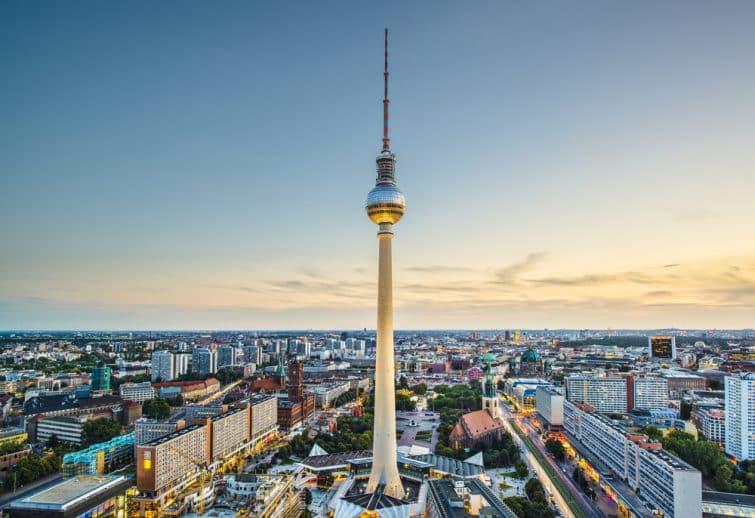 Tour de Berlin et vue sur Berlin