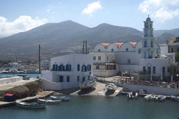 Fry, le Port à faire à Kassos