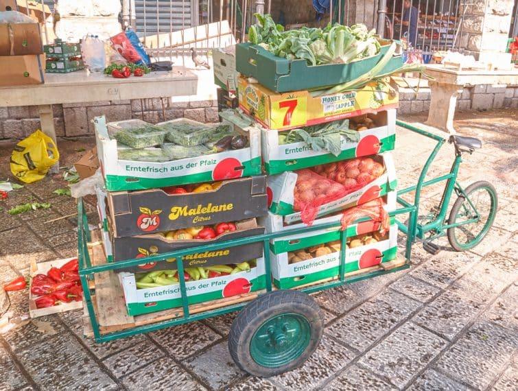 kotor marché