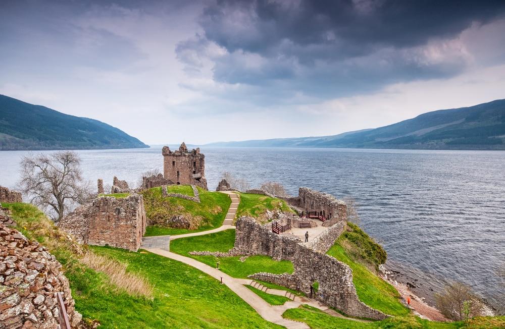 Urquhart Castle, lac du Loch Ness, Ecosse châteaux Ecosse