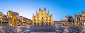 Panorama de la Piazza del Duomo, Milan