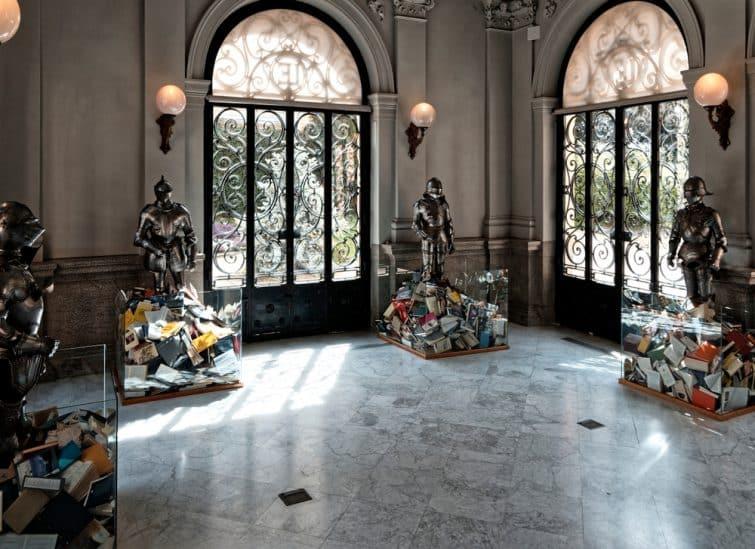 Intérieur du musée Lázaro Galdiano, Madrid