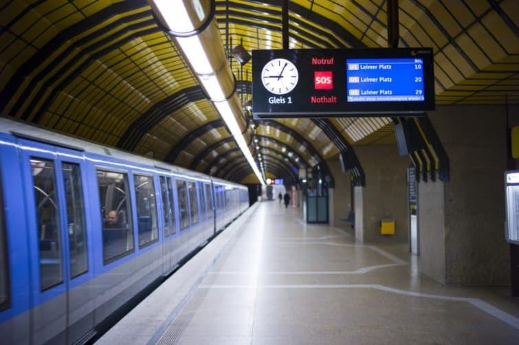 Le métro de Munich