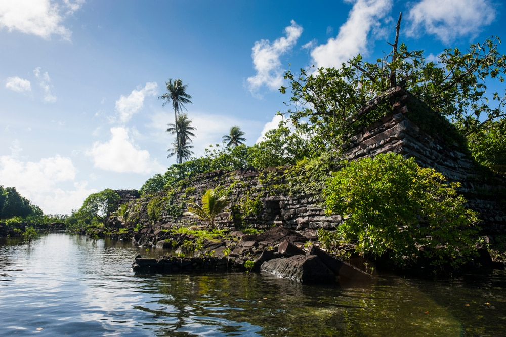 Nan Madol, Micronésie