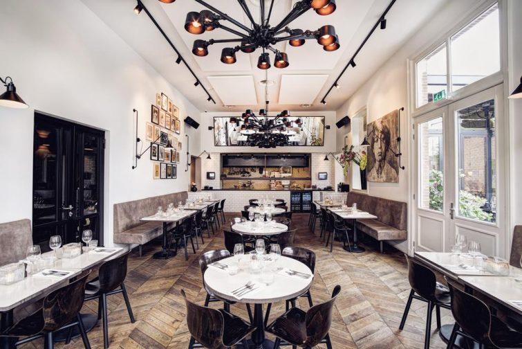 Restaurant à l'hôtel Morgan Mees, Amsterdam