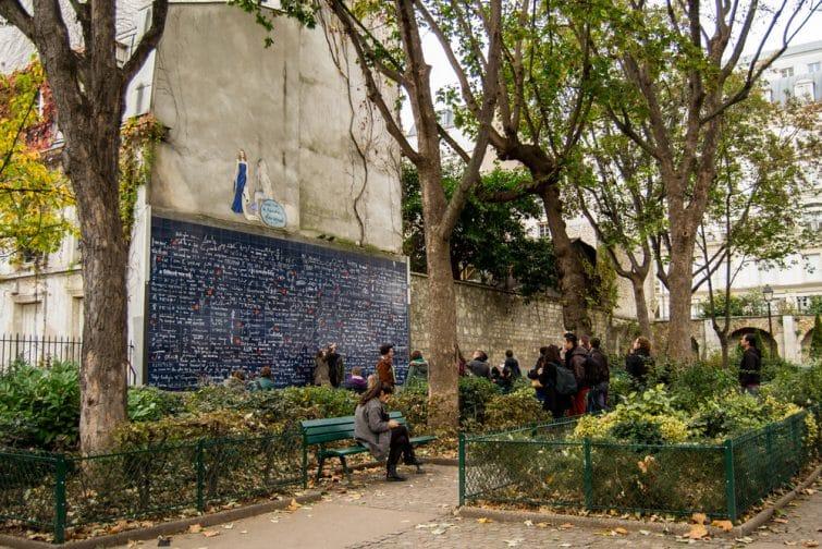 Mur des Je t'aime, Montmartre, Paris