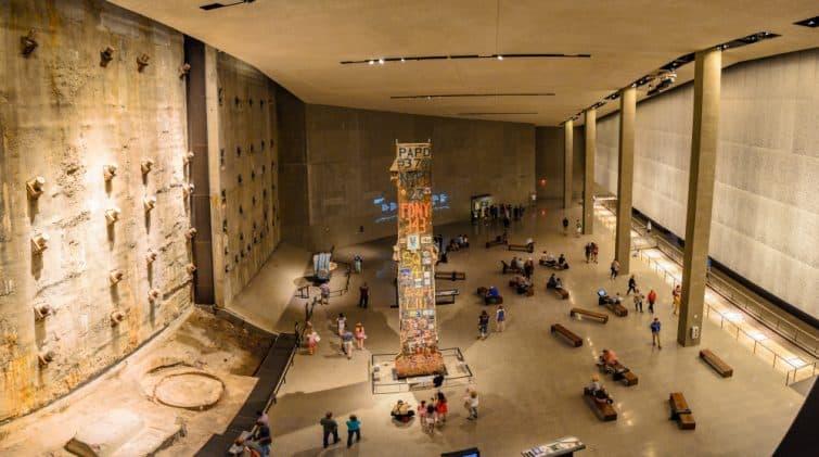 Intérieur du Musée du 11 septembre, New York