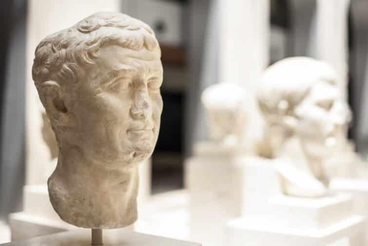 Buste romain, musée archéologique de Madrid