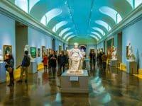 Intérieur du musée du Prado à Madrid
