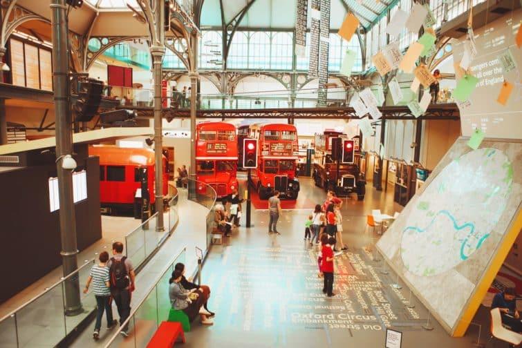 Le Musée des Transports de Londres