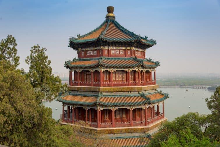 Le Palais d'été de Pékin