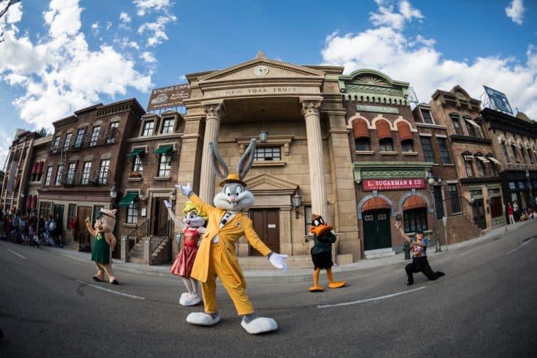 Bugs Bunny à Warner Parque, Madrid