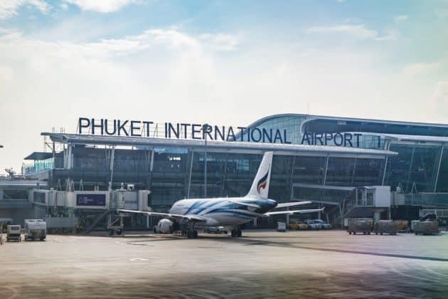 Transfert entre l'aéroport de Phuket et le centre