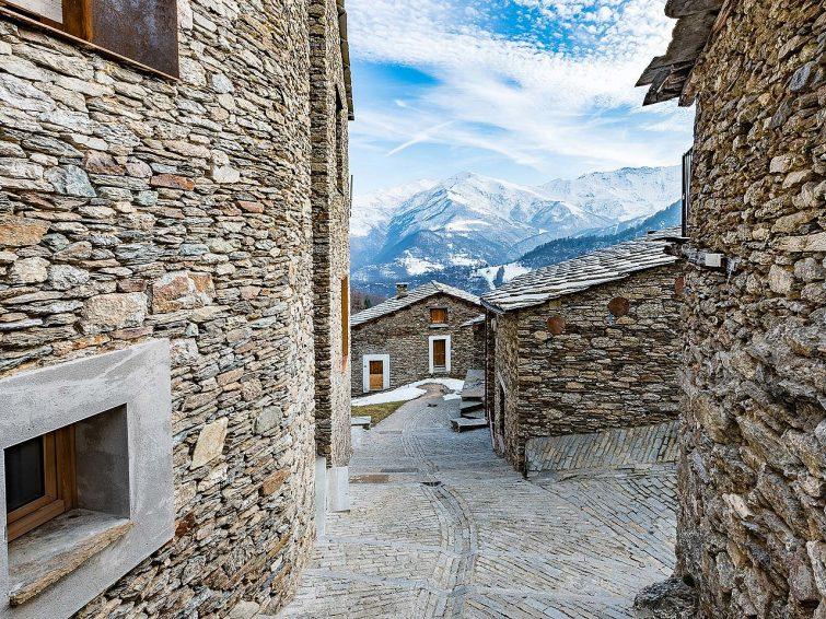 Le village d'Ostana, Piémont