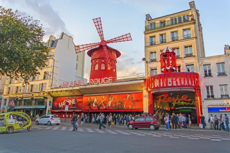 Moulin Rouge, Pigalle, Paris