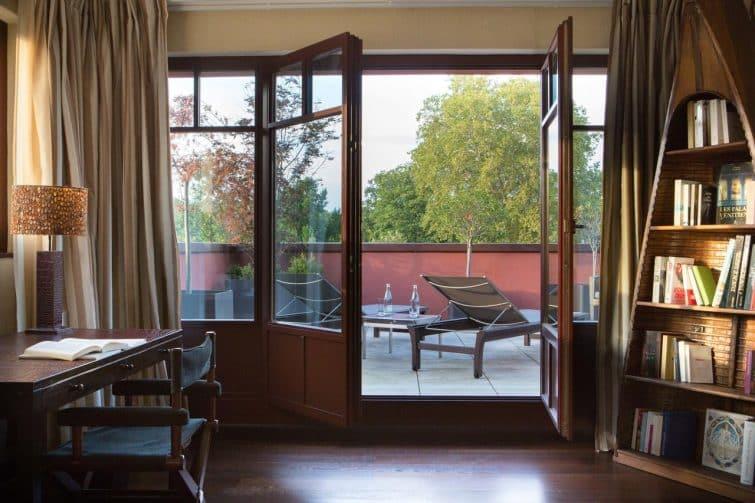 Chambre à Reserve Genève Hôtel & Spa