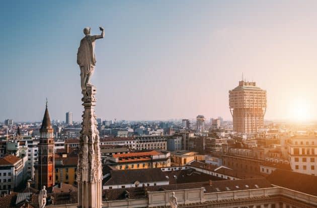 Les 11 meilleurs rooftops où boire un verre à Milan