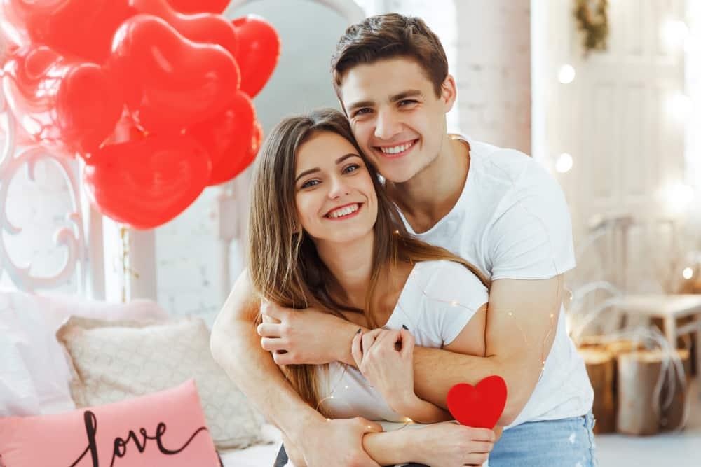 Amoureux Saint Valentin