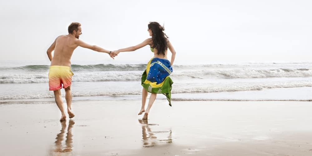 Saint Valentin d'un couple brésilien
