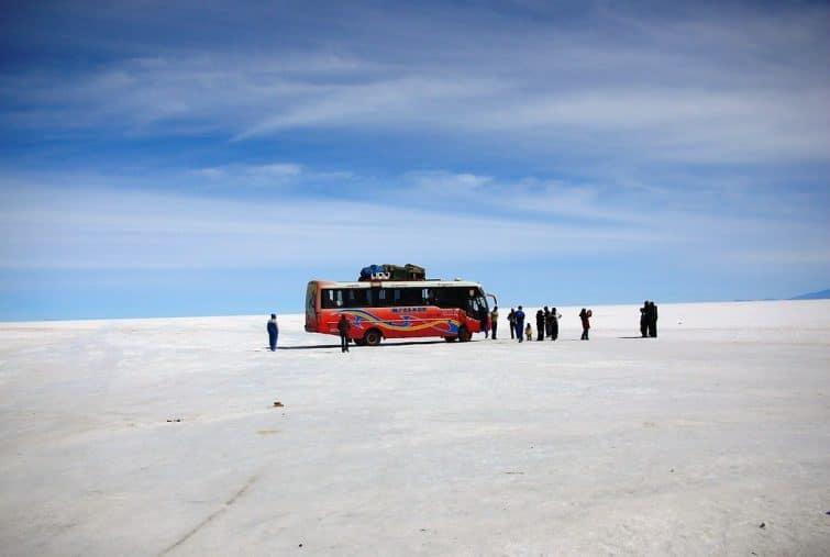 Visiter le Salar d'Uyuni en bus