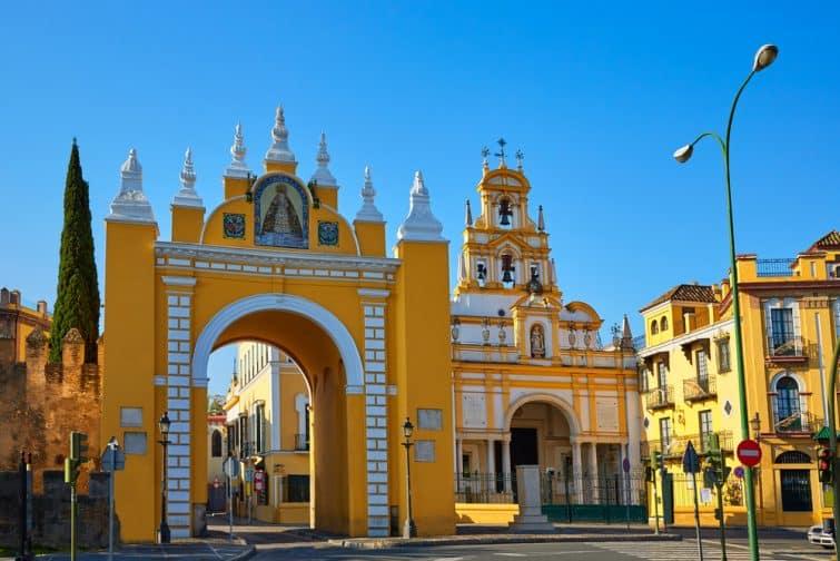 La puerta de la Macarena, à admirer lors d'une visite guidée de Séville