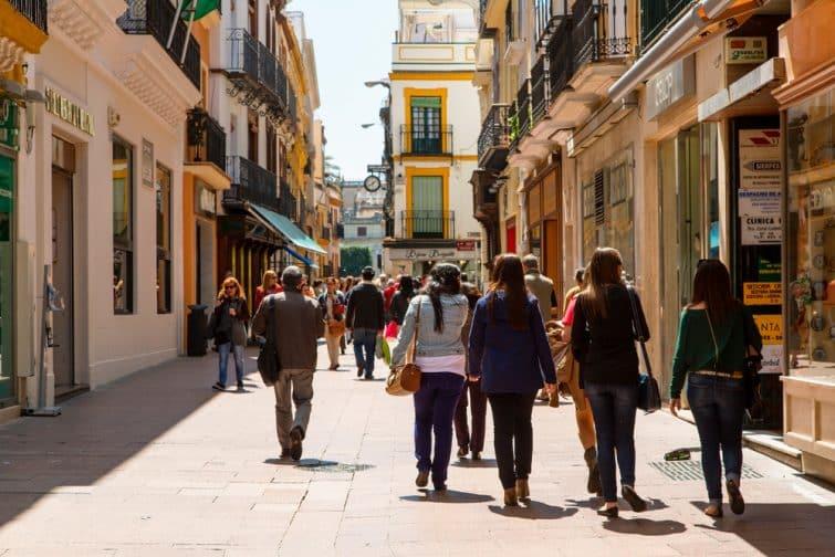 Faire une visite guidée de Séville, à pied