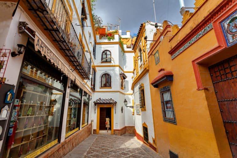 Le quartier de Santa Cruz, idéal pour une visite guidée à Séville