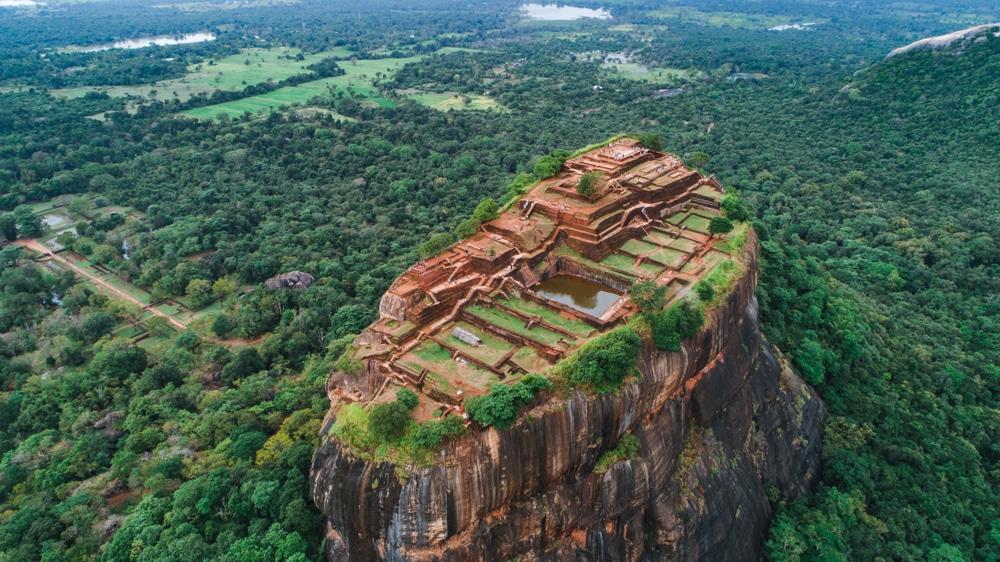 Le Rocher du Lion, Sigiriya