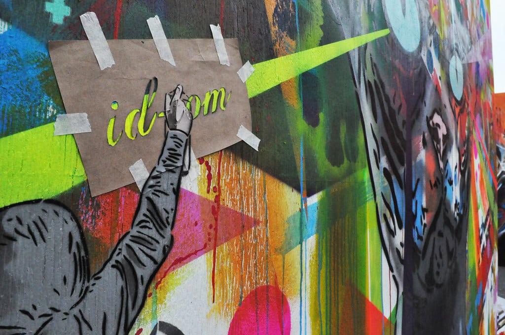 Fresque exposée à l'Upfest 2010 de Bristol