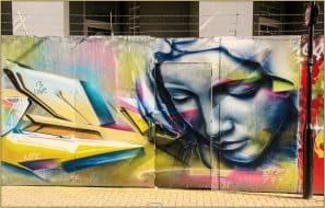 Magnifique grafitti à Camden