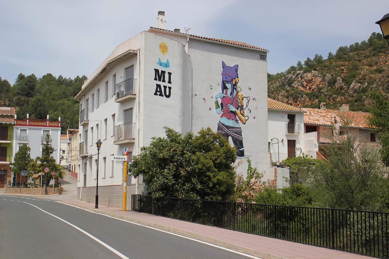 Peinture murale à Fanzaro