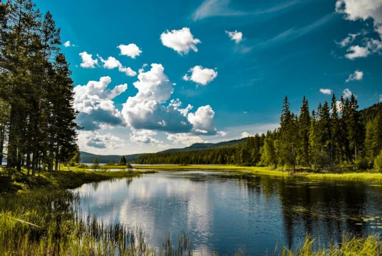 Lac de Mora, Suède
