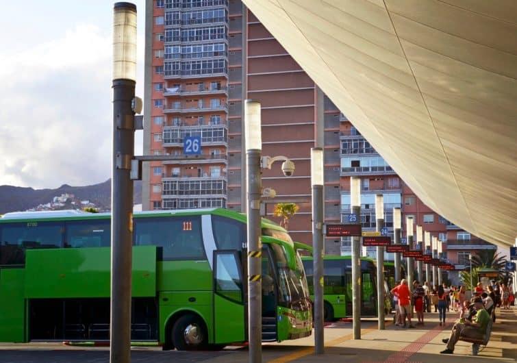 tenerife bus