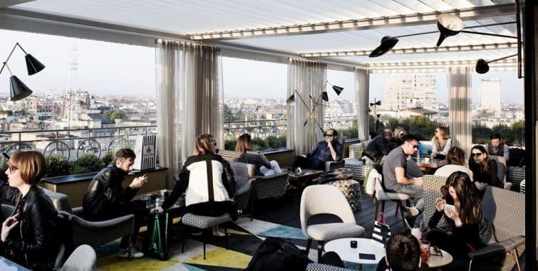 Rooftop au Terrazza 12, bar lounge à Milan