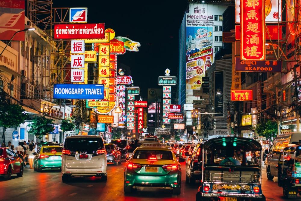 Rue thaïlandaise