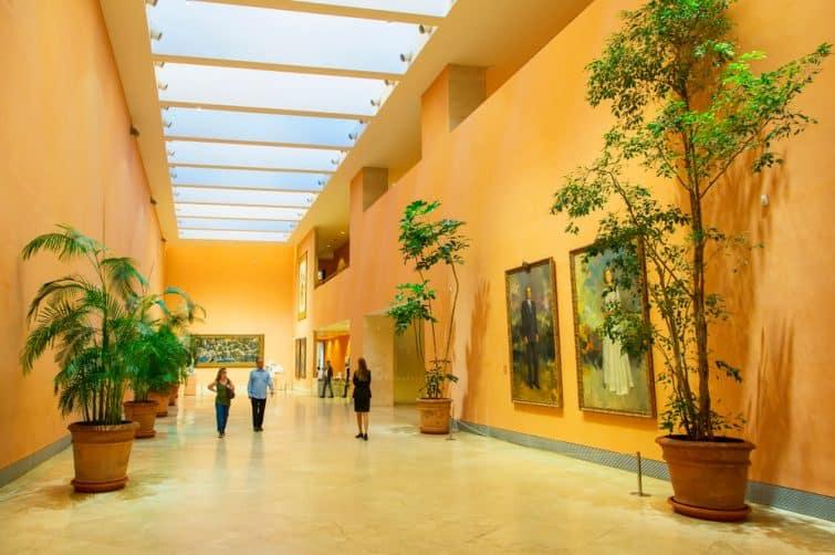 Intérieur du musée Thyssen-Bornemisza, Madrid