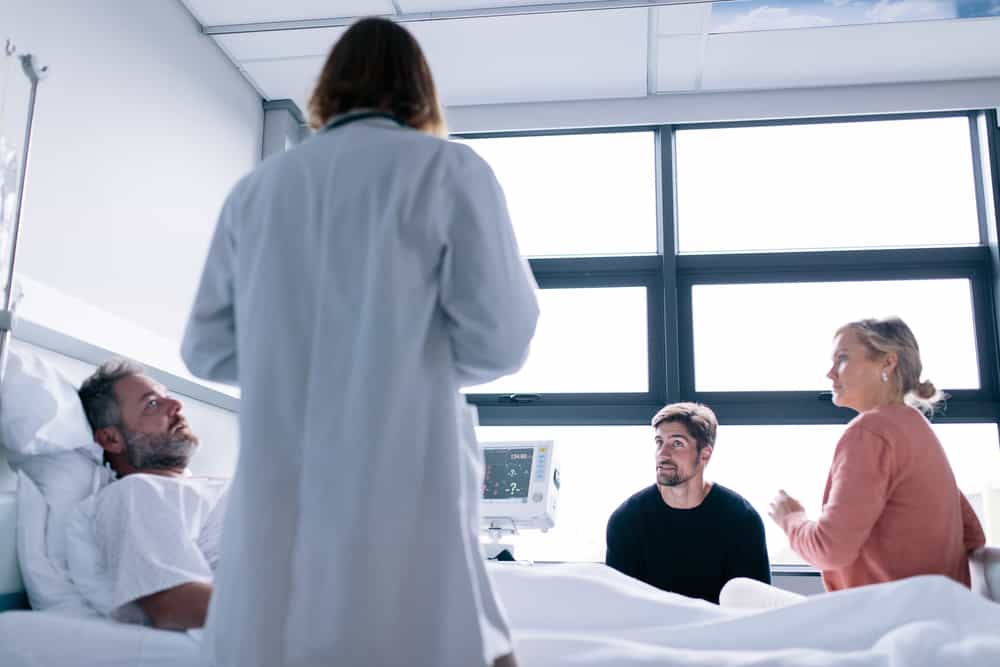 Être hospitalisé