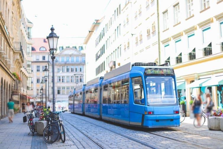 Le tramway de Munich