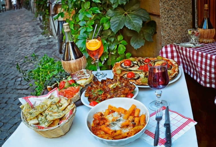 Manger à Trastevere