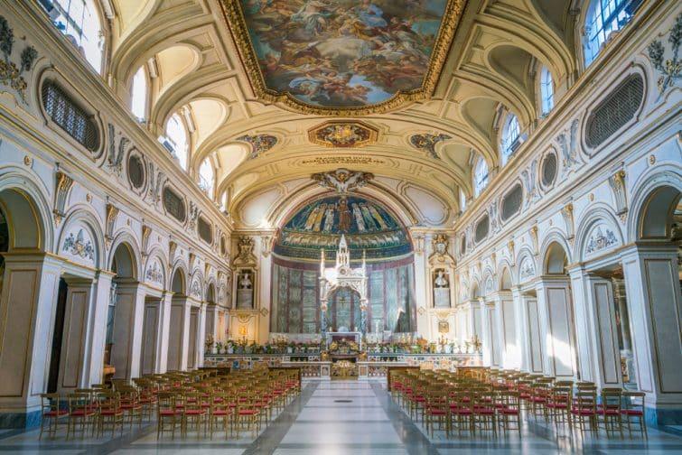 L'église Sainte Cécile à Trastevere, Rome