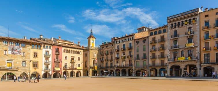 Centre historique de Vic, à faire en Catalogne