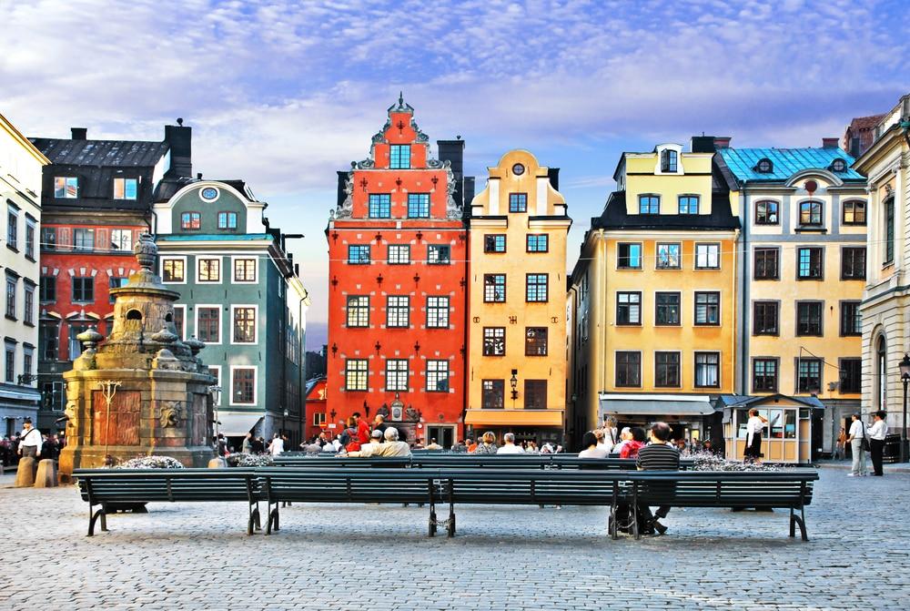 La vieille ville à Stockholm