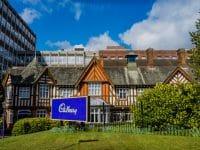 Entrée de Cadbury World, Birmingham