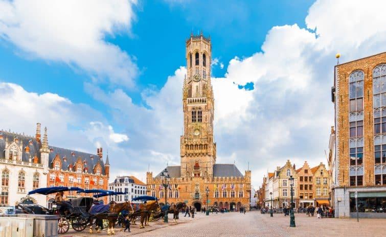 Place du marché Grote Markt, Bruges