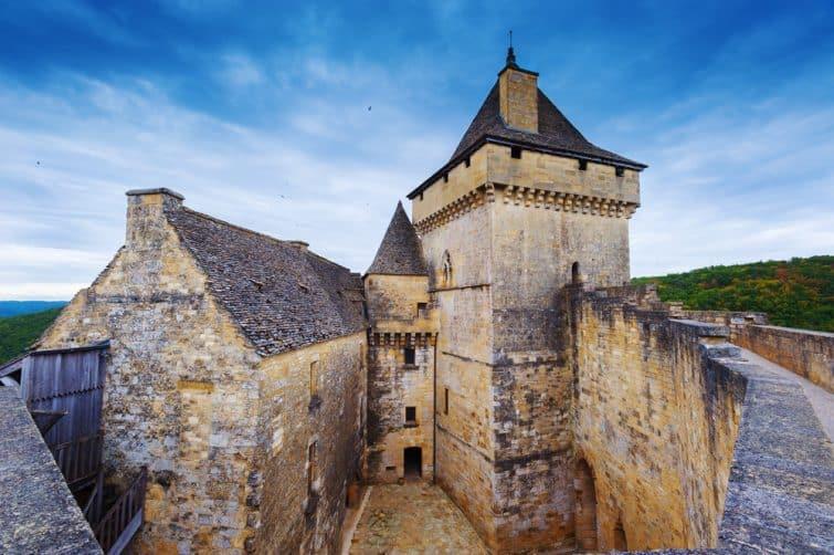 Intérieur du château de Castelnaud, Dordogne